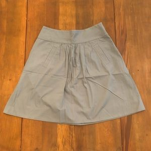 J Crew Pleated Mini Skirt
